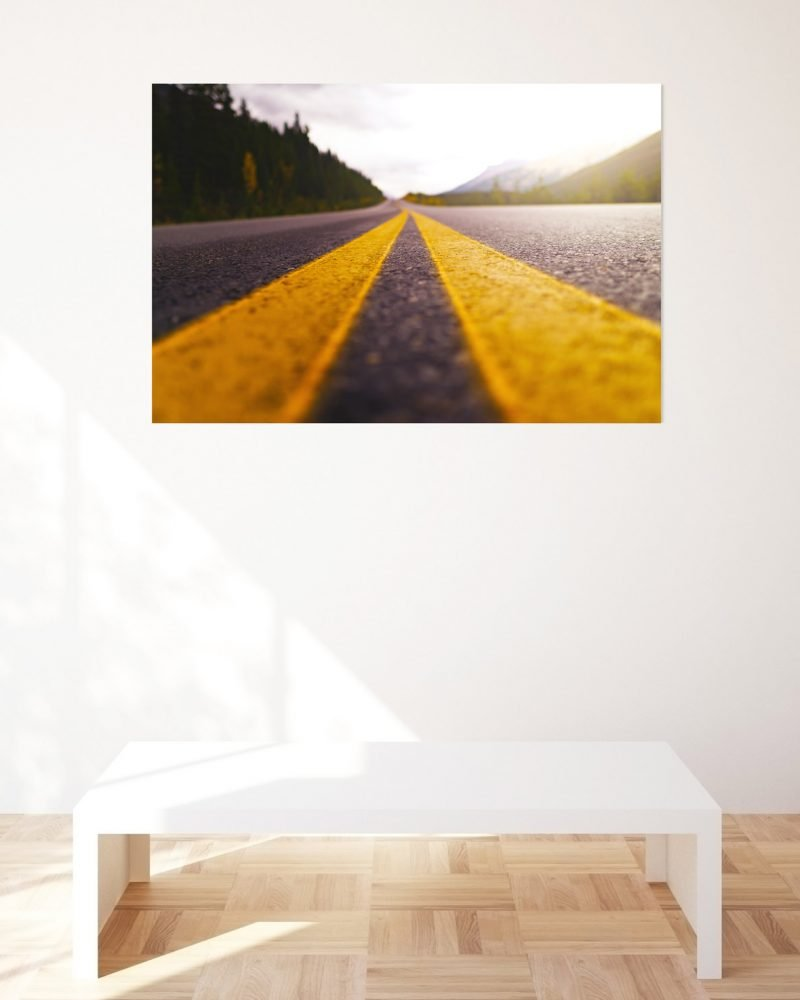 beautiful-wall-print-for-sale-highway-into-mountains